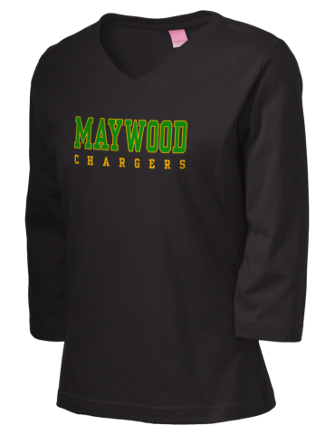 890d9ba91 Maywood Middle School Chargers LAT Women s 3 4-Sleeve T-Shirt