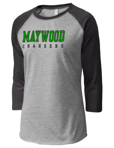 bc4413ddc Maywood Middle School Chargers LAT Women s Baseball T-Shirt