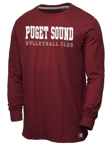 baeb059cb65 Puget Sound VBC Volleyball Club Russell Athletic Men s Long Sleeve ...