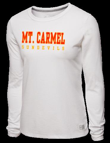 Mt. Carmel High School Sun Devils Russell Athletic Women s Long ... c9a45c491