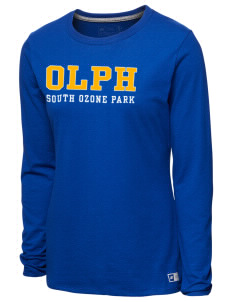 738d6adf6651ec Our Lady of Perpetual Help Parish South Ozone Park  T-Shirts - Long Sleeve
