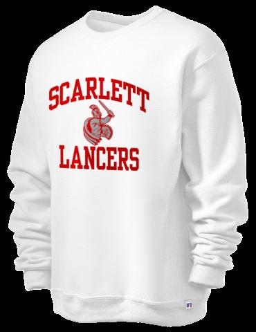 Dr  E P  Scarlett High School Lancers Russell Athletic Men's Dri-Power® 9  oz  Crewneck Sweatshirt