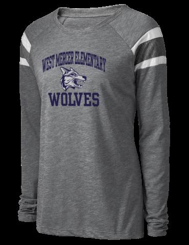 84d53c6fca878 West Mercer Elementary Wolves Augusta Sportswear Women s Long Sleeve ...
