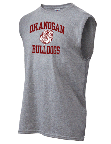 Okanogan High School Bulldogs Jerzees Mens Dri Power Shooter Shirt