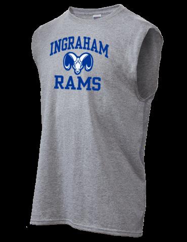 Ingraham High School Rams JERZEES Men s DRI-POWER® Shooter Shirt 41b0103a1