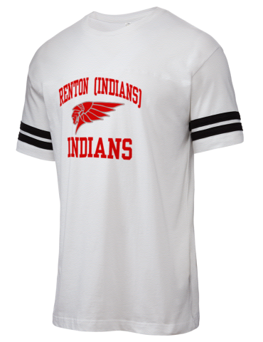 Renton High School Indians Lat Men S Football T Shirt