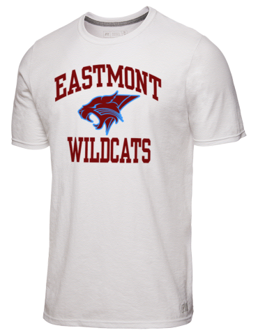 Eastmont High School Wildcats Russell Athletic Men S 4 5 Oz T Shirt