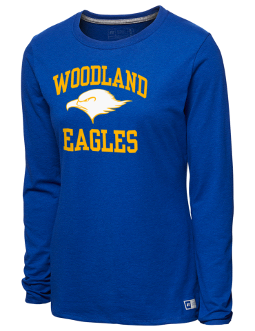 057b9701d Woodland Elementary School Eagles Russell Athletic Women s Long ...