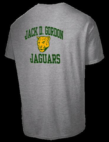 Jack D Gordon Elementary School Jaguars Jerzees Tall Men S Dri Power Active T Shirt