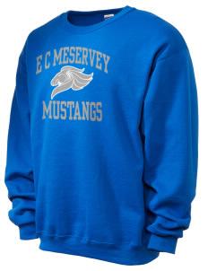 Magnet Men's Sweatshirts Elementary E C Mustangs School Meservey qYTPCw