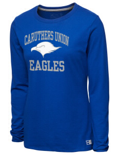 9edb08af Caruthers Union Elementary School Eagles Women's T-Shirts - Long Sleeve