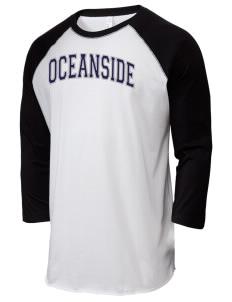 Oceanside High School Sailors Mens T Shirts Long Sleeve Prep