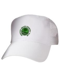 6503e0b3f16 Embroidered Cotton Twill Trucker-Style Mesh Back Cap