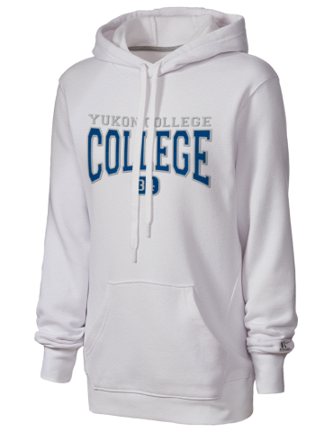 6ecf05108168b Yukon College Russell Athletic Women's Hooded Sweatshirt with Tackle ...