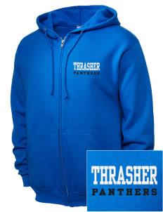 Thrasher Elementary School Panthers Women s Sweatshirts - Zip Up ... 89e9c79642