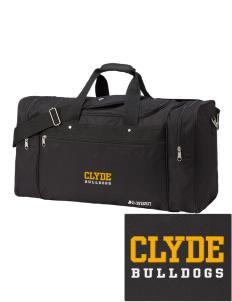 Clyde High School Bulldogs Duffel Bags 736f1c2496833