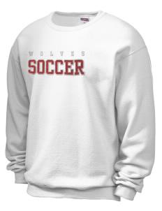 JERZEES Unisex NuBlend® 8oz Crewneck Sweatshirt with Sparkle Twill™ 7b1f28da2