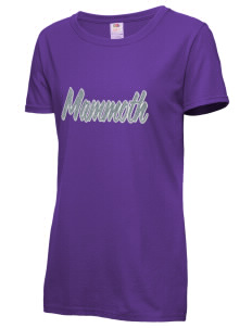 Mammoth Middle School Mountain Lions Women s T-Shirts - Applique ... e41a8be722