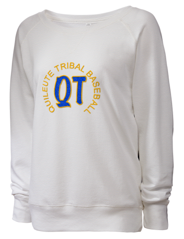 970e153a3 Quileute Tribal Elementary School LAT Women's Slouchy French ...