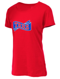 Football Apparel. Fruit of the Loom Women s 5oz Cotton T-Shirt with Sparkle  Twill™ 02317c91a