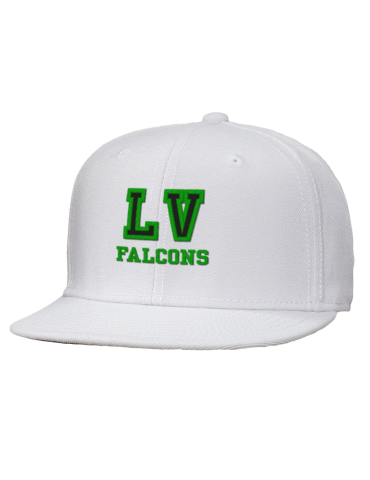 5a2daf9a3ce811 La Venture Middle School Falcons Embroidered Wool Blend Flat Bill ...