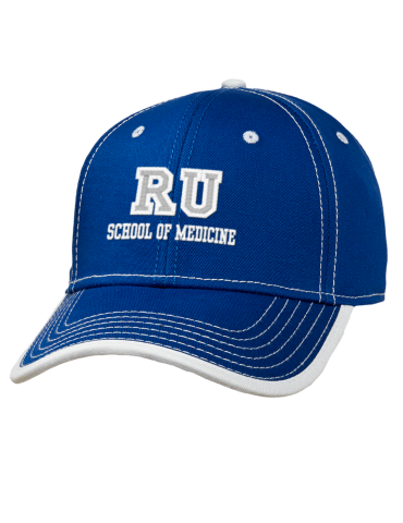 Ross University School of Medicine Embroidered Cotton Twill Contrast Stitch  Low Profile Cap