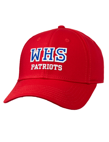 Washington High School Patriots Embroidered Wool Blend Gray ... 4a5a68eaa