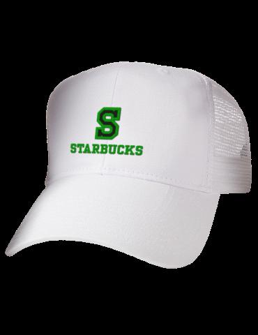 Starbuck Elementary School Starbucks Embroidered Cotton Twill ... 4e57a214697d