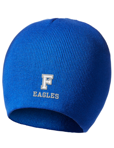 d85ac51995e Faulkner University Eagles Embroidered Superior Cotton Blend Knit Beanie