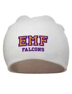 Edna Mae Fielder Elementary School Falcons Hats - Beanies