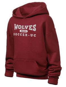 Los Angeles Wolves Soccer Girls Sweatshirts  66c85053b