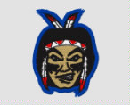 708de20b8e088 Paschal Sherman Indian School Chiefs Embroidered Cotton Twill Flat Bill  Trucker Style Snapback Cap
