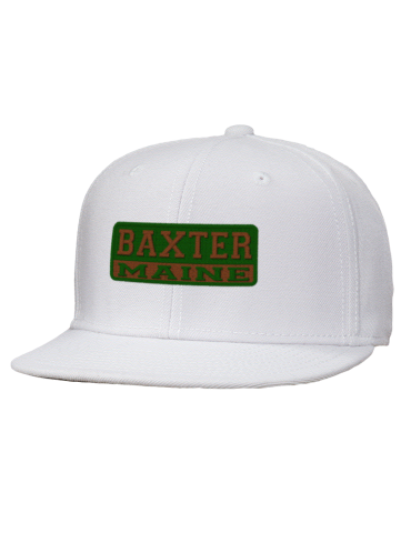 ed2143f4cb0 Baxter State Park Embroidered Wool Blend Flat Bill Pro-Style ...