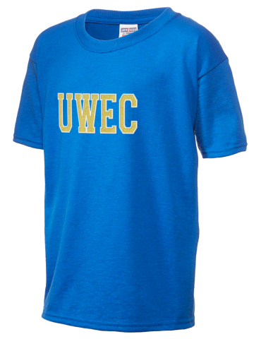 best sneakers bf003 8cabf University of Wisconsin-Eau Claire Blugolds JERZEES Dri-Power® Active Youth  T-shirt with Sparkle Twill™