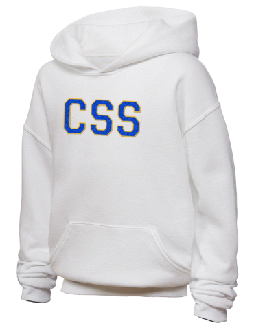 JERZEES Youth Hooded Sweatshirt with Sparkle Twill™