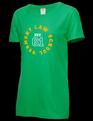 Vermont Law School est  1961 Fruit of the Loom Women's 5oz Cotton T-Shirt