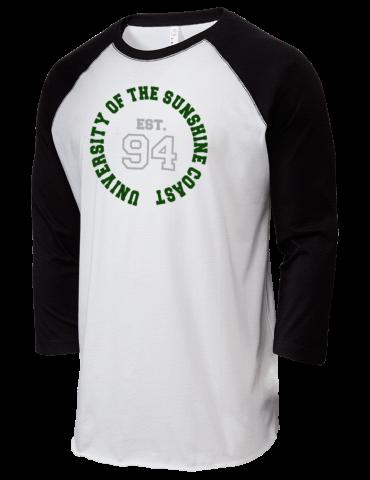 831709e2ef University of the Sunshine Coast University LAT Men's Baseball T-Shirt