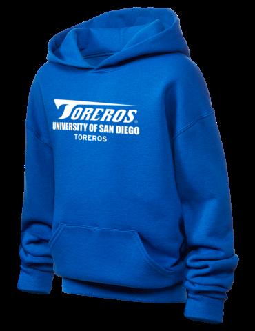 University Of San Diego Toreros Jerzees Youth Hooded Sweatshirt