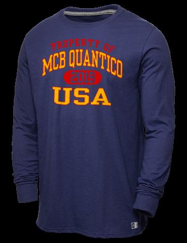 d89789e4ca3142 Quantico Combat Development Command Russell Athletic Men's Long ...