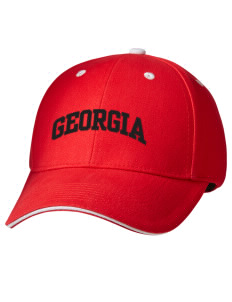 75cb0d40fc5 best price harding lane georgia hat 623ed e6b51  canada embroidered brushed  cotton twill contrast sandwich visor low profile cap f4ebe 5477a