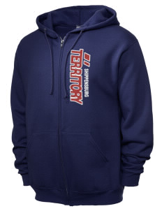 19e78510 JERZEES Unisex NuBlend® 8oz Fleece Full-Zip Hood with Side Sparkle Twill™