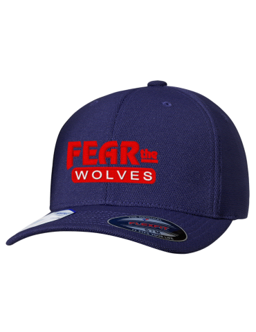 f84678406ee West Black Hills High School Wolves Embroidered Flexfit® Cool   Dry ...