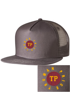 199e6308605cf Embroidered Five Panel Pro Style Mesh Back Cap
