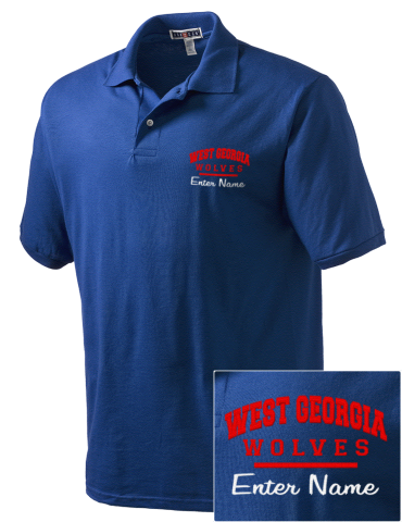 release date: 3ae32 08d27 Embroidered JERZEES Men's SpotShield™ Jersey Polo Shirt