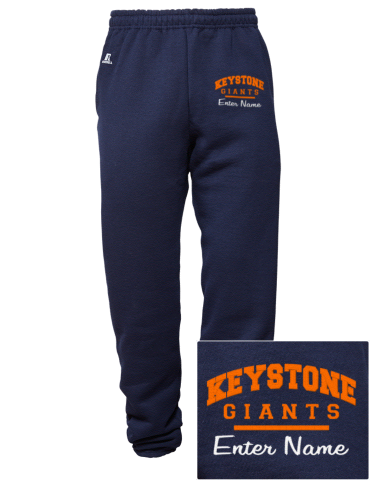 526f0d01483 Keystone College Giants Russell Athletic Embroidered Men's ...