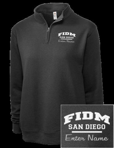 Fashion Institute Of Design And Merch San Diego Embroidered Women S Sofspun Quarter Zip Sweatshirt