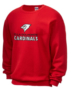 37d28ace099a3b JERZEES Unisex 50 50 NuBlend® 8 oz. Crewneck Sweatshirt with Tackle Twill