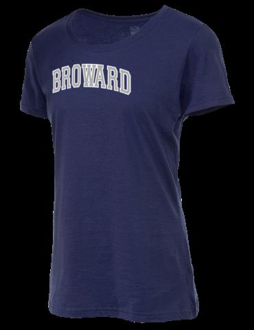 8aa40f8fb07 Broward College Seahawks Fruit of the Loom Women's 5oz Cotton T-Shirt