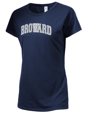 ce8638fceb4 Broward College Seahawks SofSpun™ Women's Junior Fit 4.7oz Cotton T ...