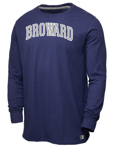 89d299ad3bd Broward College Seahawks Russell Athletic Men's Long Sleeve T-Shirt